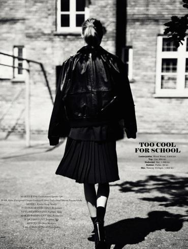 Kirstin Kragh Liljegren by Oliver Stalmans for Elle Denmark