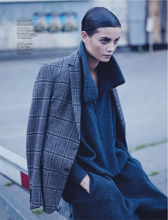 Moa Aberg by Stian Foss for Jalouse
