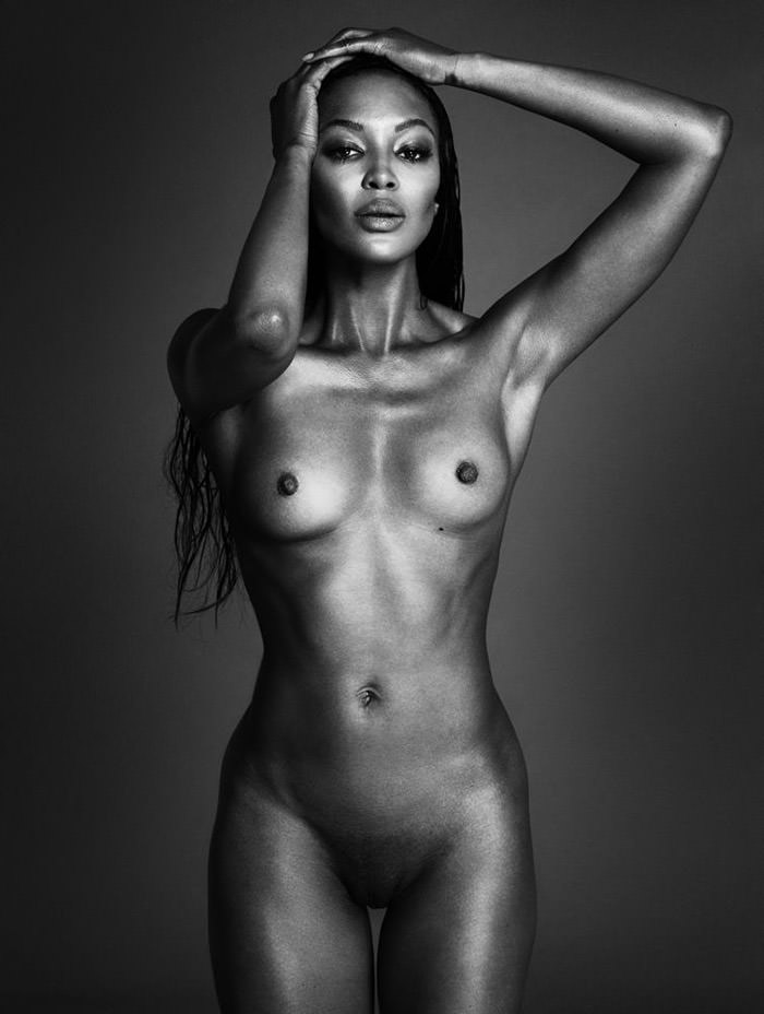 Naomi Campbell by Mert & Marcus for Interview