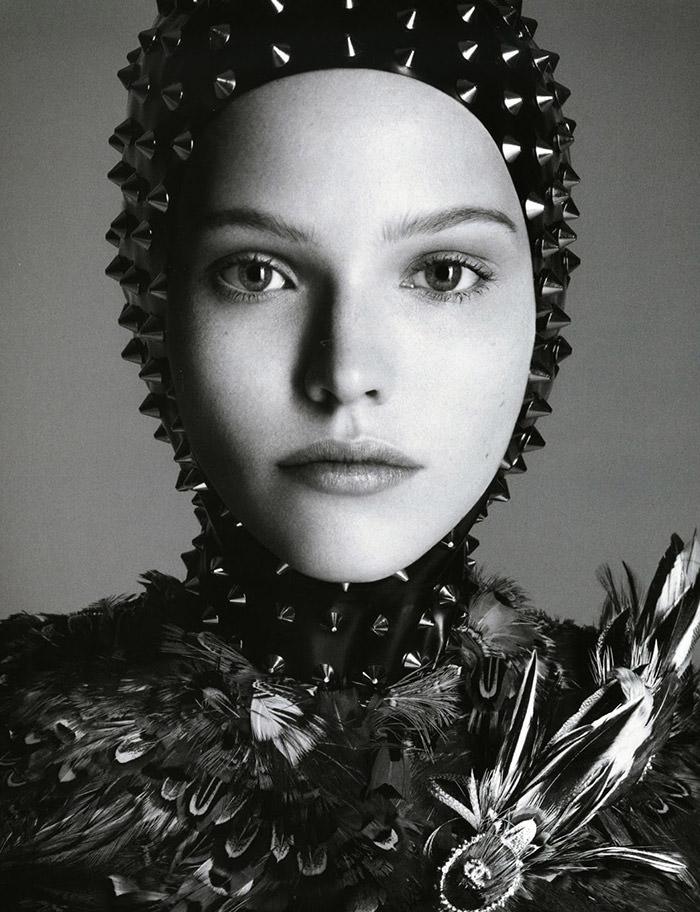 Sasha Luss by Daniele and Iango for Vogue Japan
