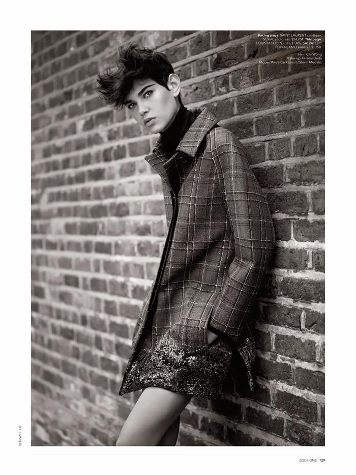 Amra Cerkezovic by Ben Weller for Miss Vogue Australia