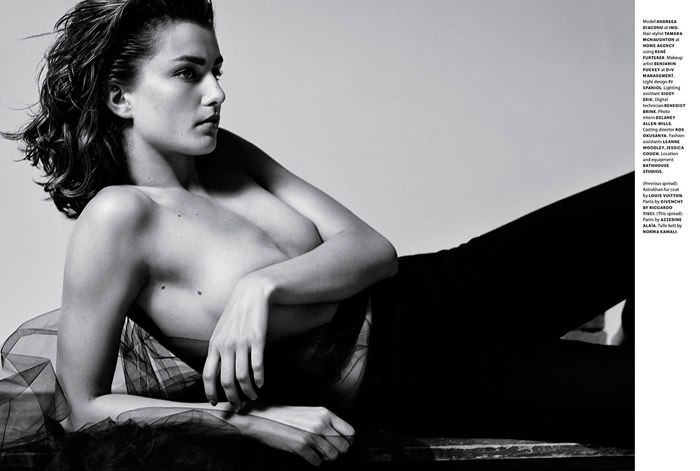 Andreea Diaconu photographed by Collier Schorr for Document Journal #3