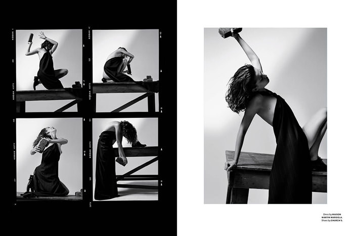 Andreea Diaconu by Collier Schorr for Document Journal