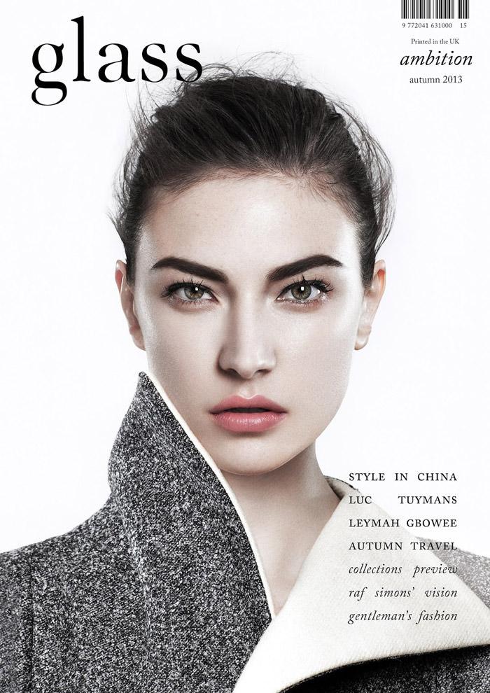 Jacquelyn Jablonski covers Glass Magazine