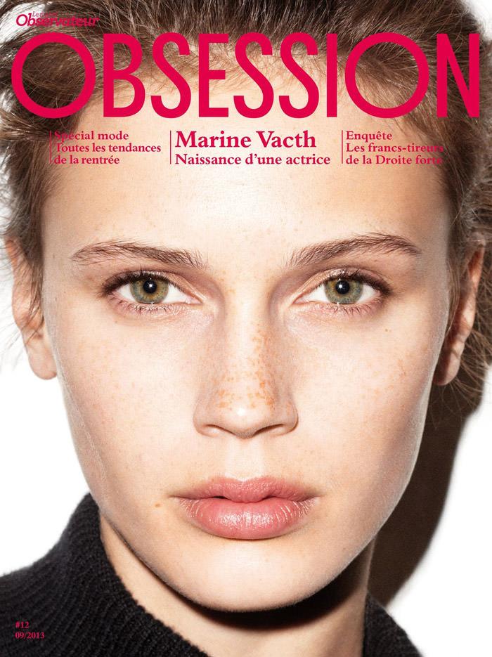 Marine Vacth by Maciek Kobielski for Obsession Magazine