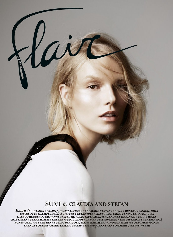 Suvi Koponen covers Flair Magazine