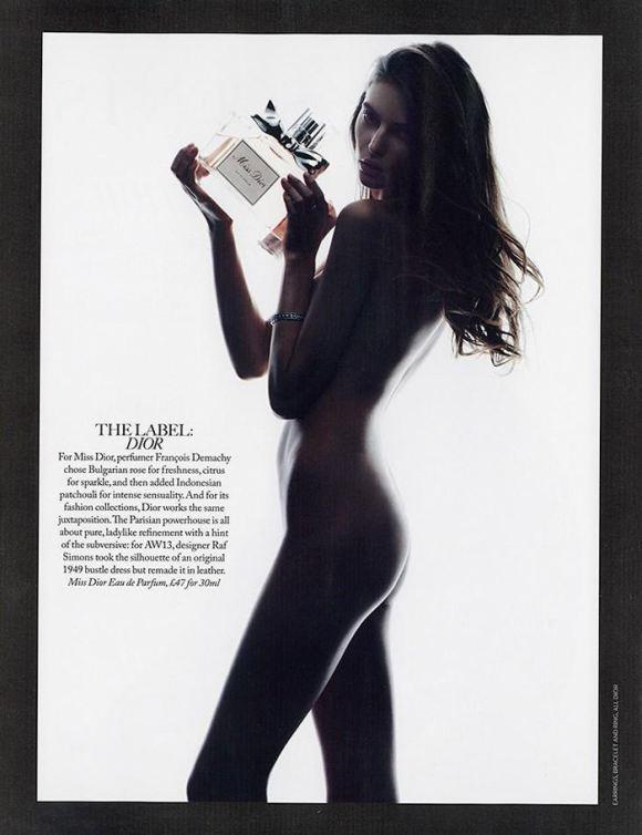 Auguste Abeliunaite by Jason Hetherington for Marie Claire UK