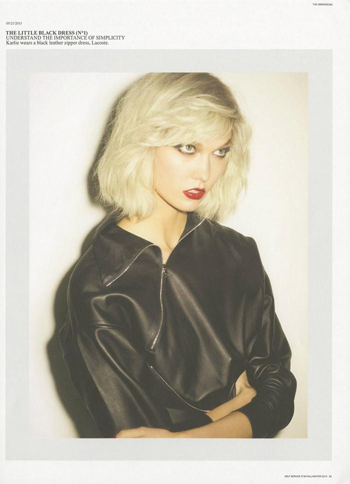 Karlie Kloss by Ezra Petronio for Self Service