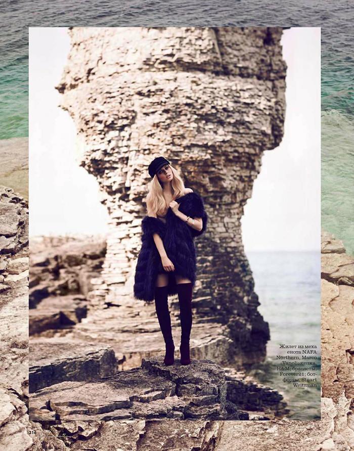 Lisette Van Den Brand by Chris Nicholls for Elle Russia