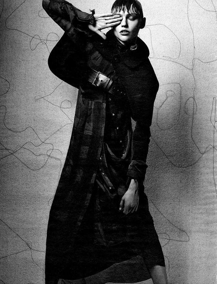 Sasha Pivovarova by Craig McDean for Interview Magazine