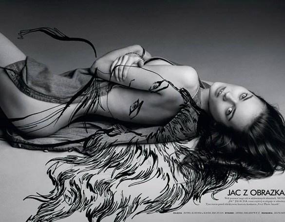 Monika Jac Jagaciak by Remi Kozdra and Kasia Baczulis for Viva Moda