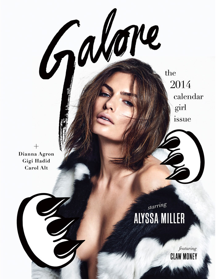 Alyssa Miller photographed by James Macari for Galore Magazine