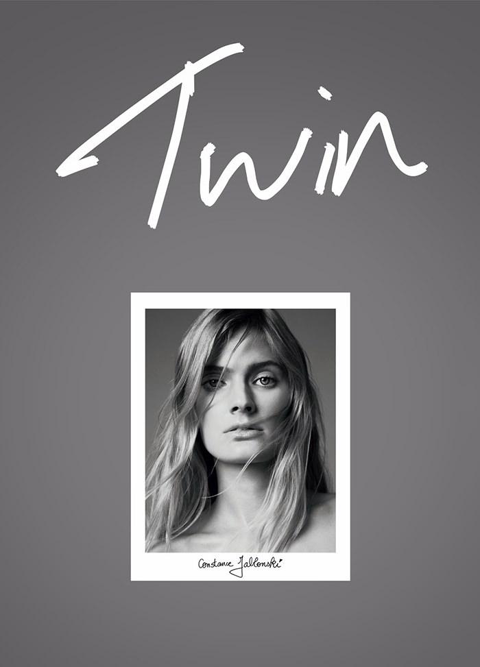 Constance Jablonski covers Twin Magazine