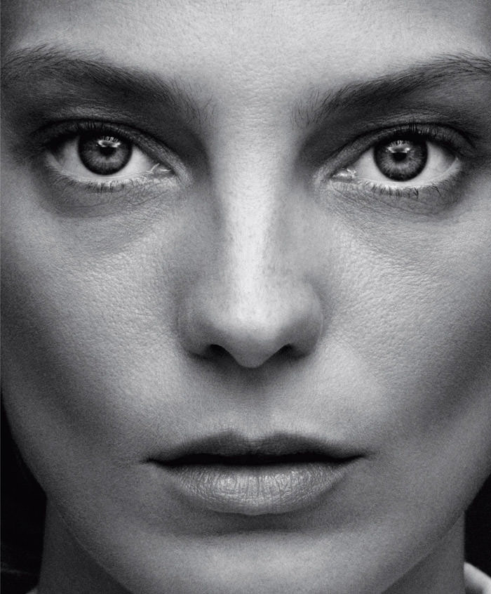 Daria Werbowy by Daniel Jackson for Harper's Bazaar