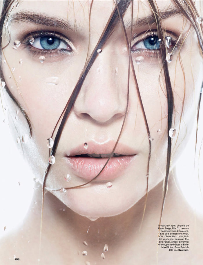 Josephine Skriver photographed by Tom Munro for Allure Russia, March 2014