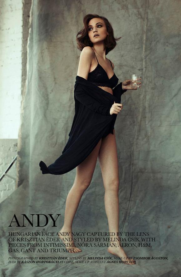 Andy Nagy by Krisztian Eder for Nowear Land