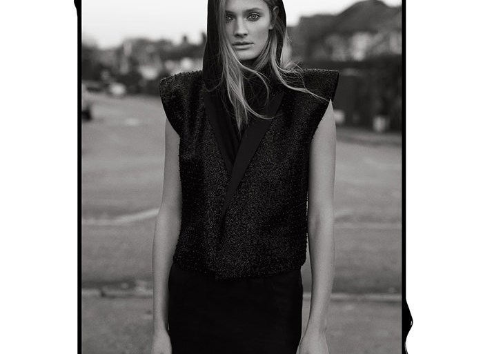 Constance Jablonski by Laurence Ellis for Rika Magazine