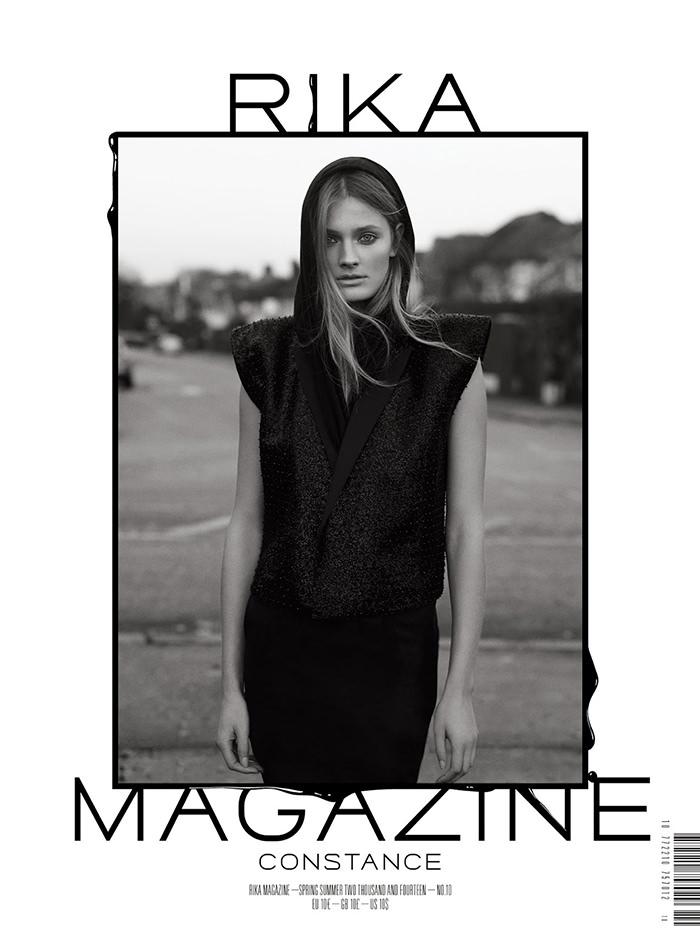 Constance Jablonski by Laurence Ellis for Rika Magazine