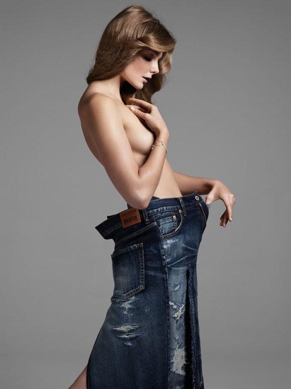 Eniko Mihalik by Liz Collins for Vogue Turkey