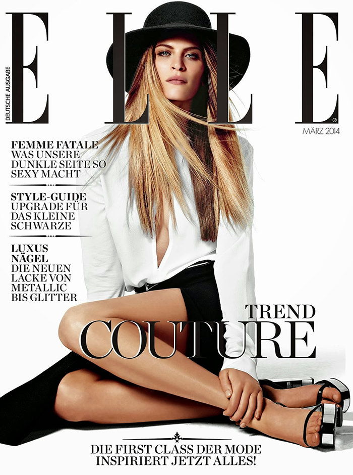 Frankie Rayder covers Elle Germany