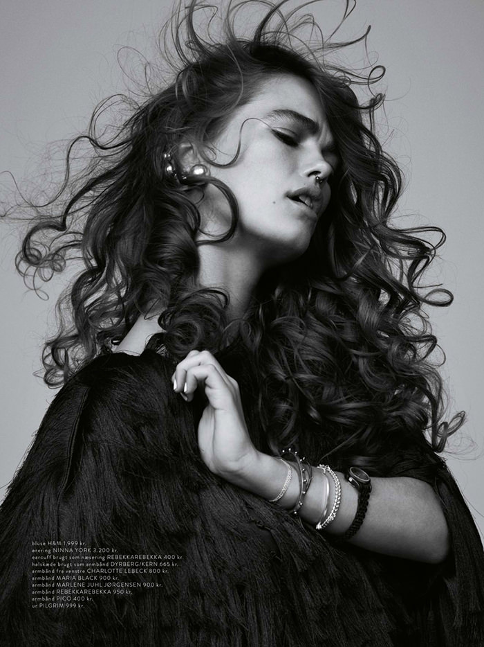 Mathilde Brok by Hordur Ingason for Costume Magazine