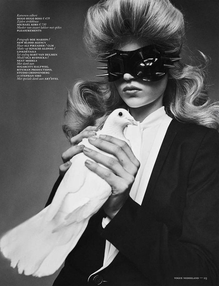 Ola Rudnicka by Boe Marion for Vogue Netherlands