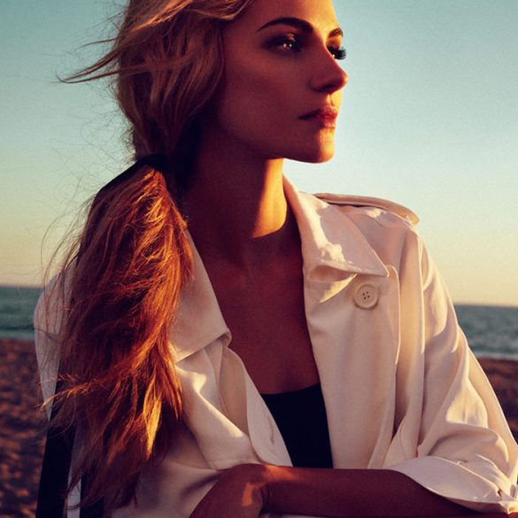 Valentina Zelyaeva by Xavi Gordo for Elle Russia