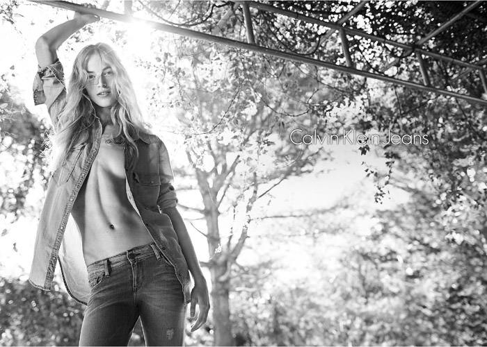 Vanessa Axente by Mario Sorrenti for Calvin Klein
