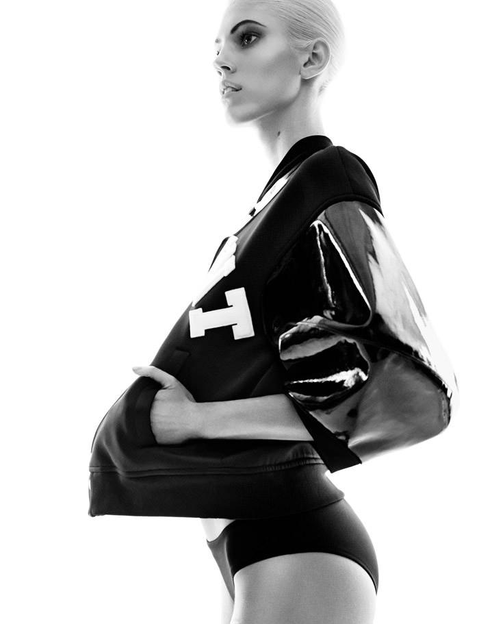 Devon Windsor by Greg Kadel for Vogue Germany