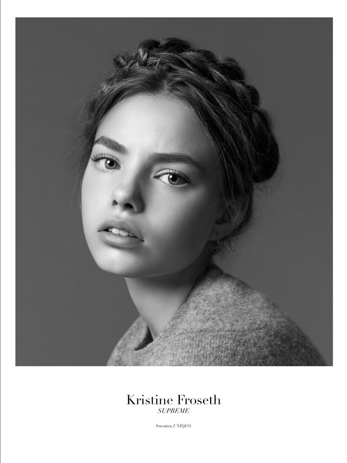 Kristine Froseth by Christopher Ferguson for Stonefox Magazine