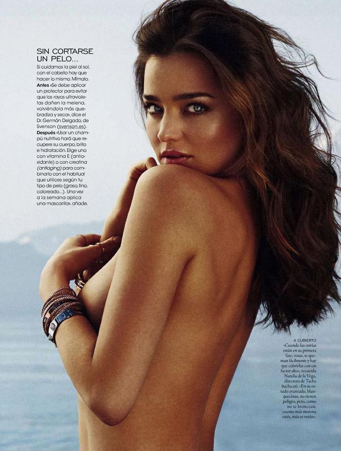 Miranda Kerr by Xavi Gordo for Elle Spain