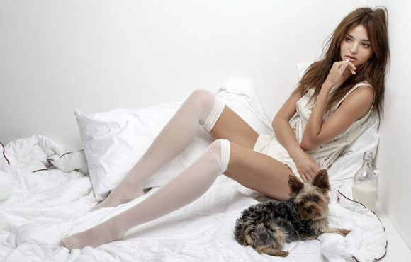 Miranda Kerr by Yu Tsai for Ocean Drive