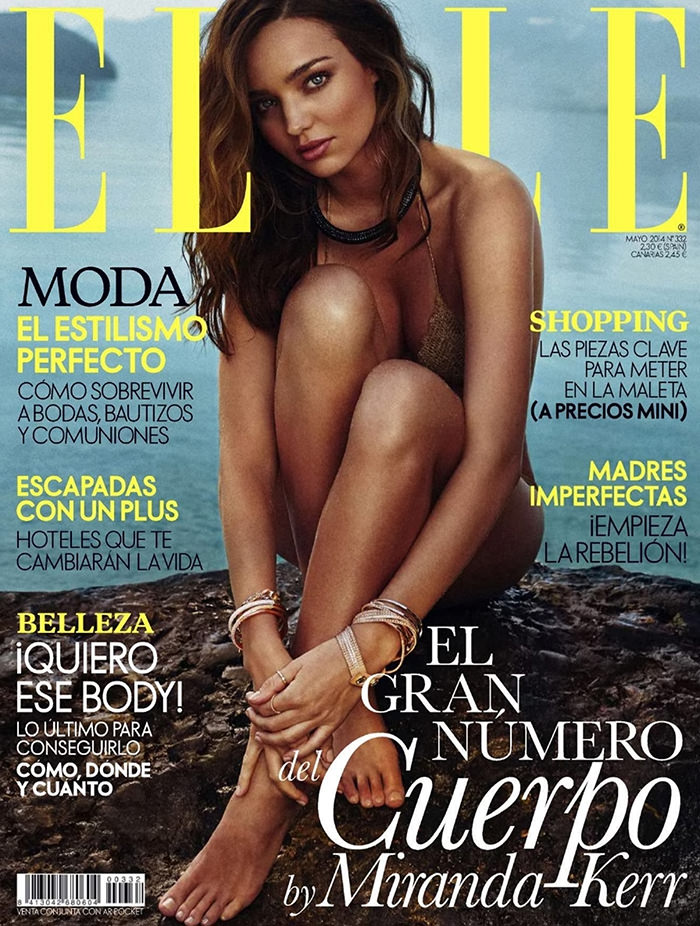 Miranda Kerr covers Elle Spain