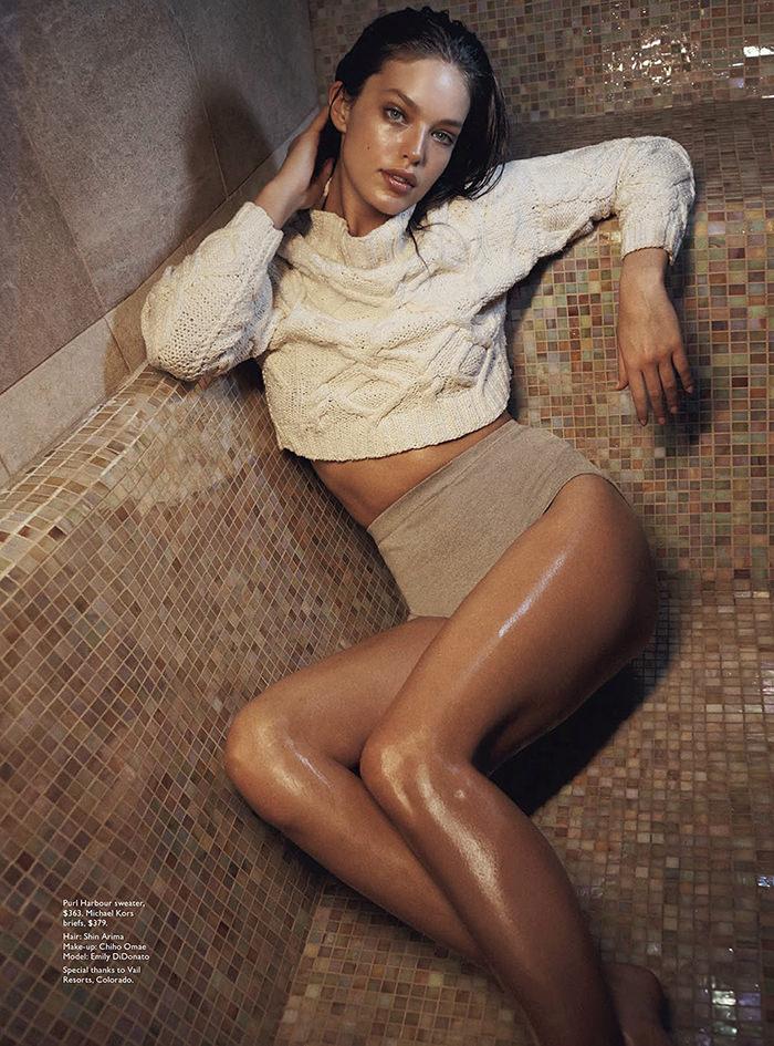 Emily DiDonato by Benny Horne for Vogue Australia