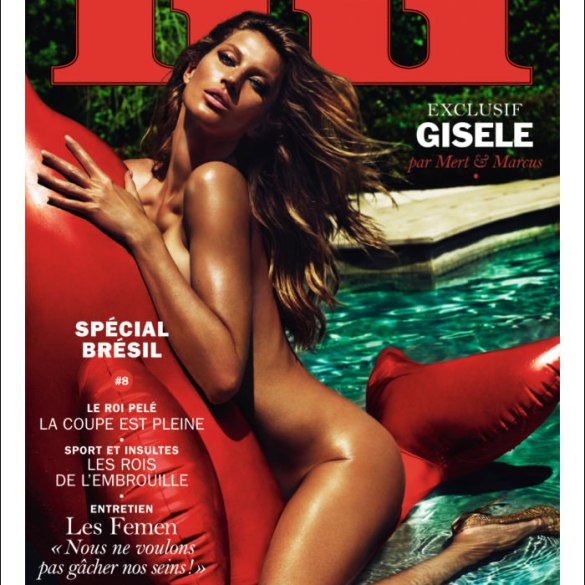 Gisele Bundchen by Mert and Marcus for Lui Magazine
