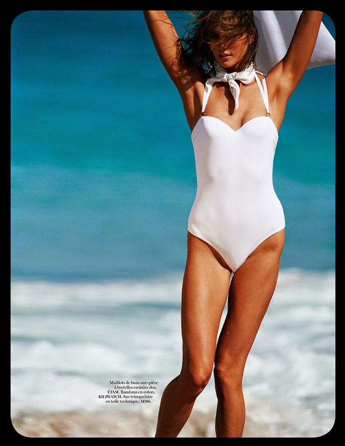 Karlie Kloss by Gilles Bensimon for Vogue Paris