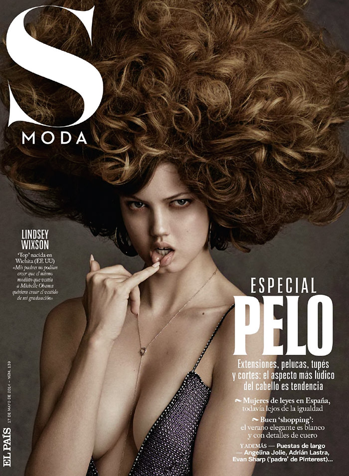 Lindsey Wixson covers S Moda