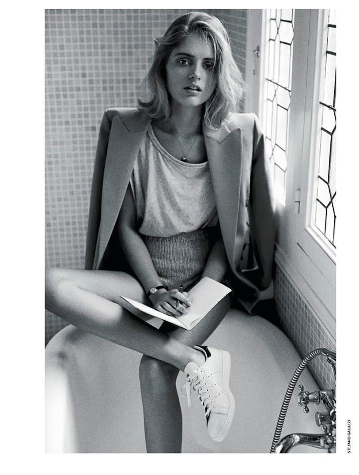 Mariska Van Der Zee photographed by Stefano Galuzzi for D La Repubblica, April 2014