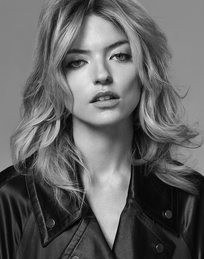 Martha Hunt by Hong Jang Hyun for Singles Korea