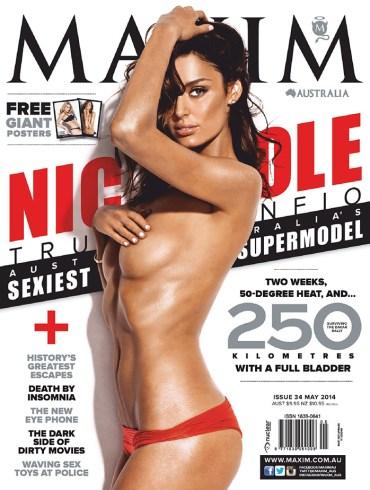 Nicole Trunfio covers Maxim Australia