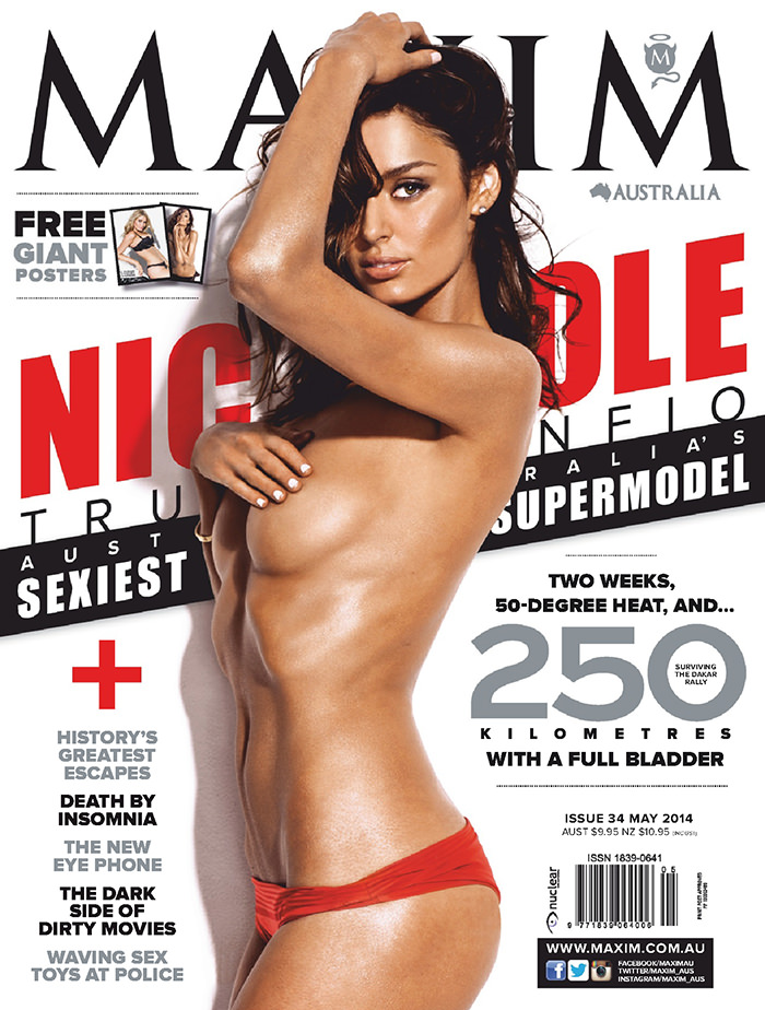 Nicole Trunfio covers Maxim Australia