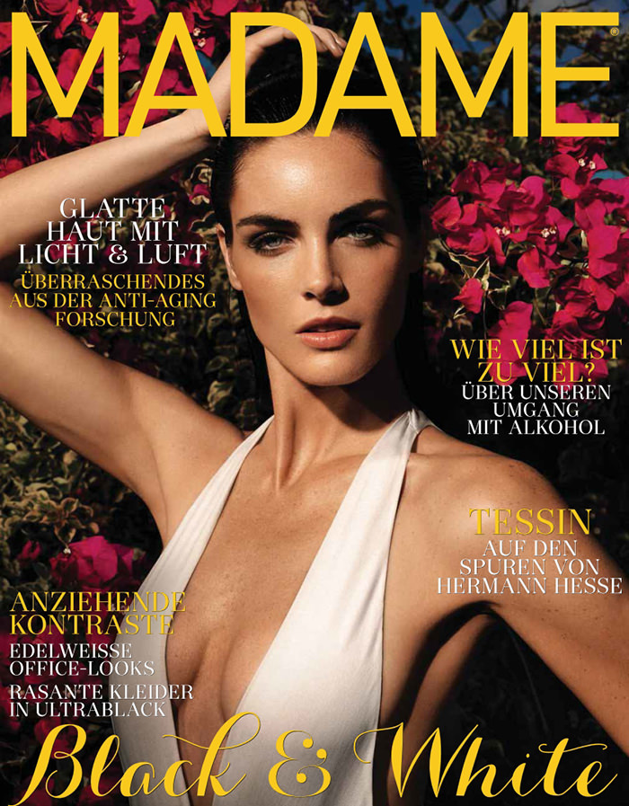 Hilary Rhoda covers Madame Germany