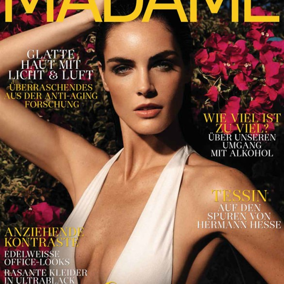 Hilary Rhoda covers Madame Germany
