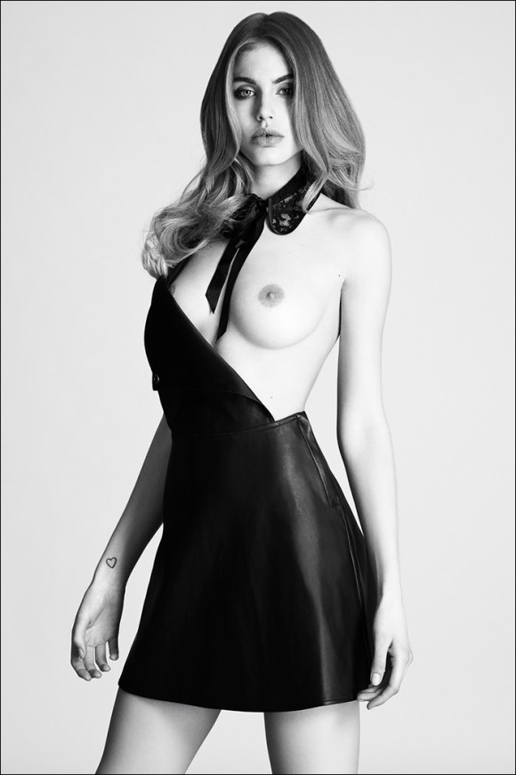 Maja Krag by Niklas Hoejlund for Tush Magazine
