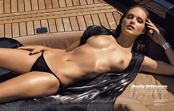Emily DiDonato by Mark Segal for Lui Magazine