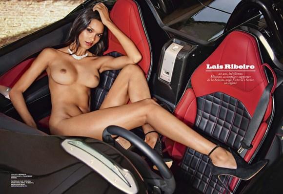 Lais Ribeiro by Mark Segal for Lui Magazine
