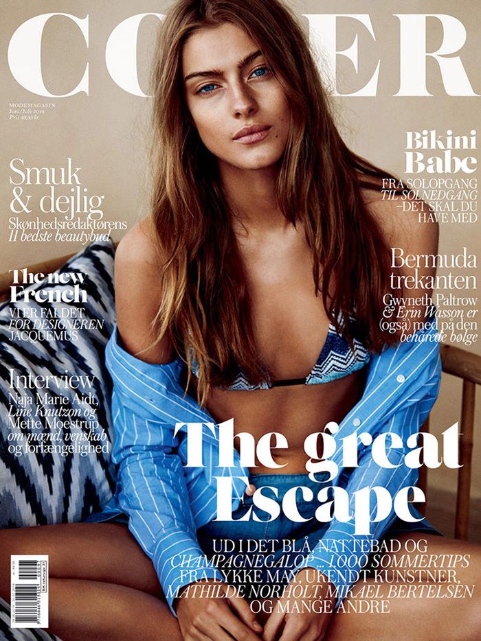 Lone Praesto covers Cover Magazine