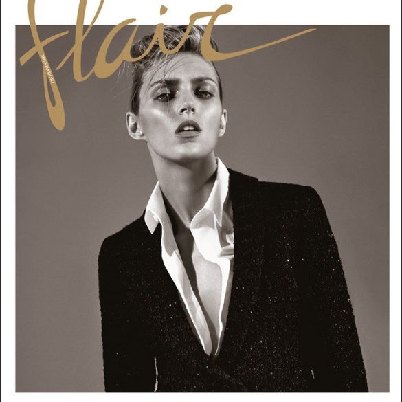 Anja Rubik by Collier Schorr for Flair Magazine