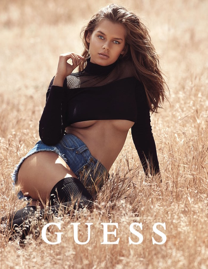 Solveig Mørk Hansen by David Bellemere for Guess