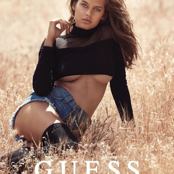 Solveig Mørk Hansen by David Bellermere for Guess